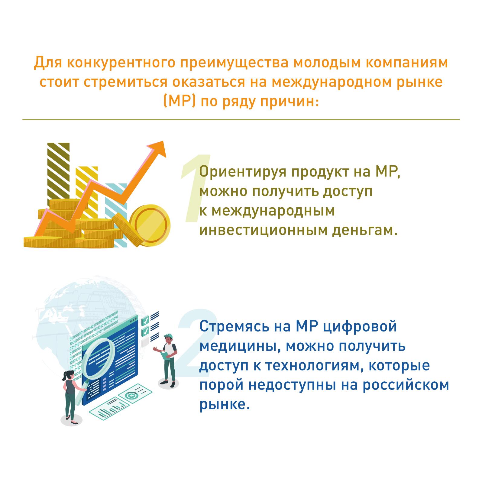 Почему российским стартапам нужно оказаться на международом рынке