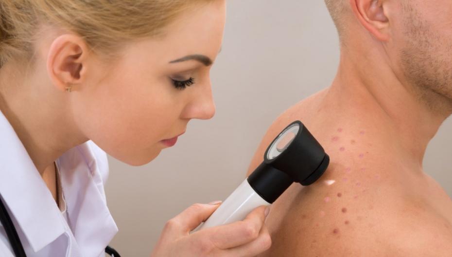 Портативный прибор для диагностики рака кожи