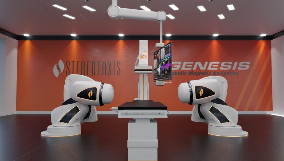 Роботизированная навигационная система и система визуализации нового поколения от Stereotaxis