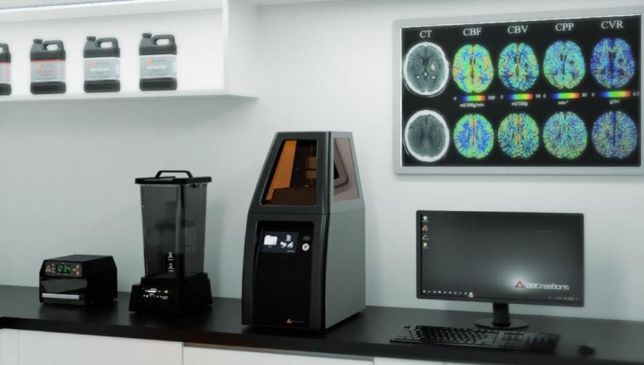 Новый медицинский 3D-принтер от B9Creations