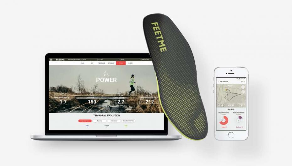 FeetMe: Сенсор, анализирующий походку