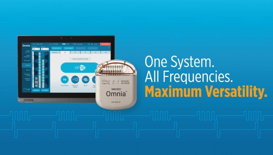 Senza Omnia: стимулятор для борьбы с хроническими болями с широким диапазоном частот