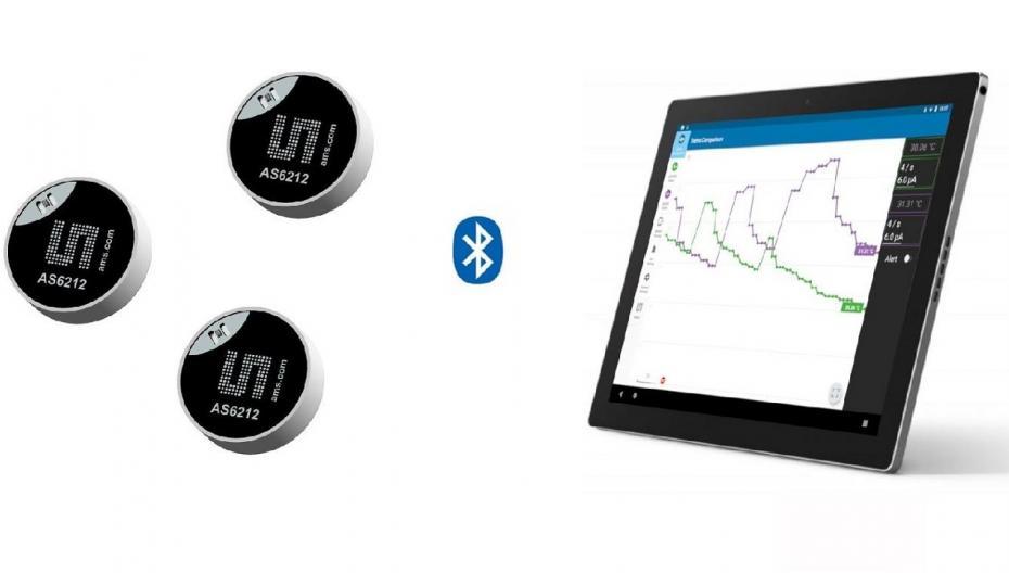 Крошечный высокоточный датчик температуры для носимых устройств