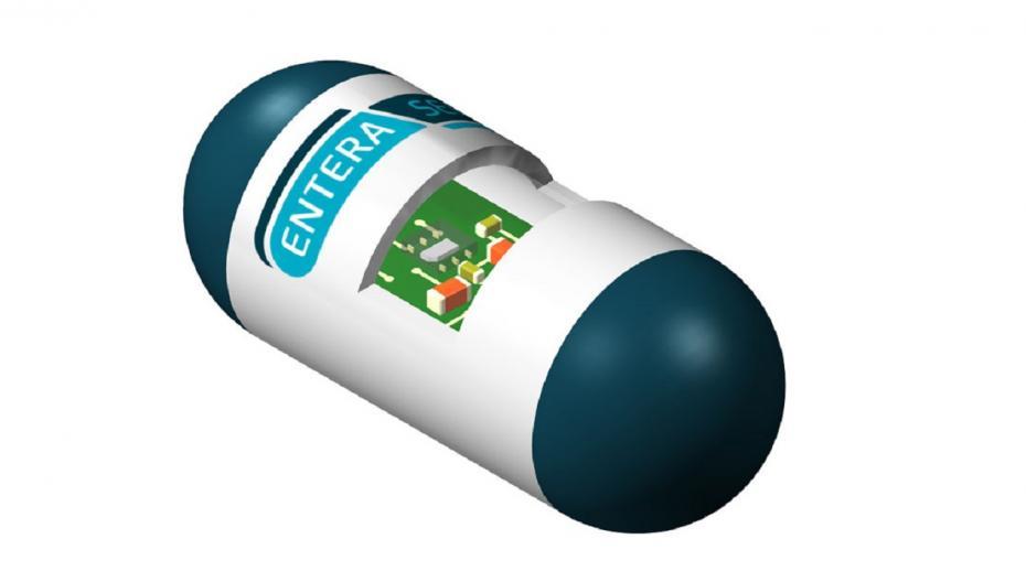 Электронные таблетки для обнаружения желудочно-кишечных кровотечений