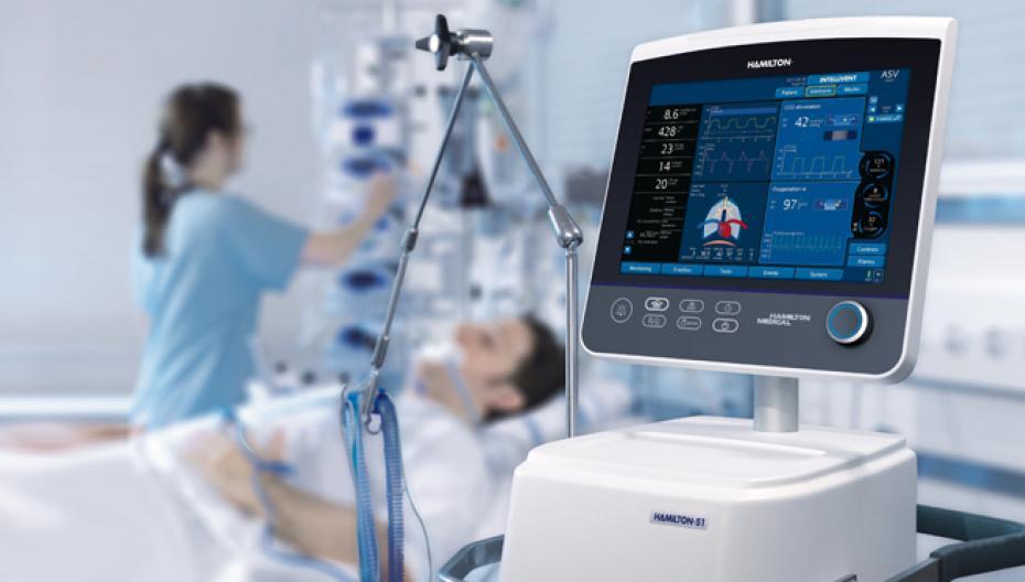В Томской больнице начали работать аппараты искусственной вентиляции легких с искусственным интеллектом