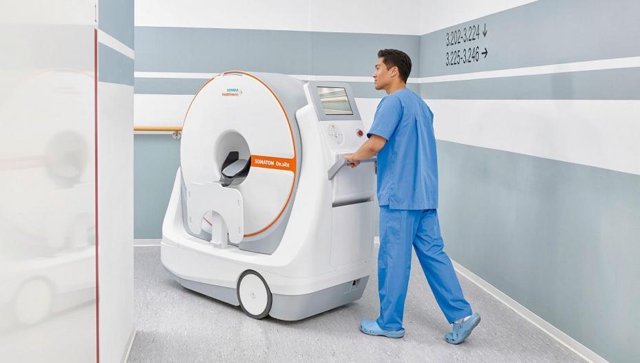 Somatom On.site: Компьютерный томограф для прикроватных обследований головы пациента