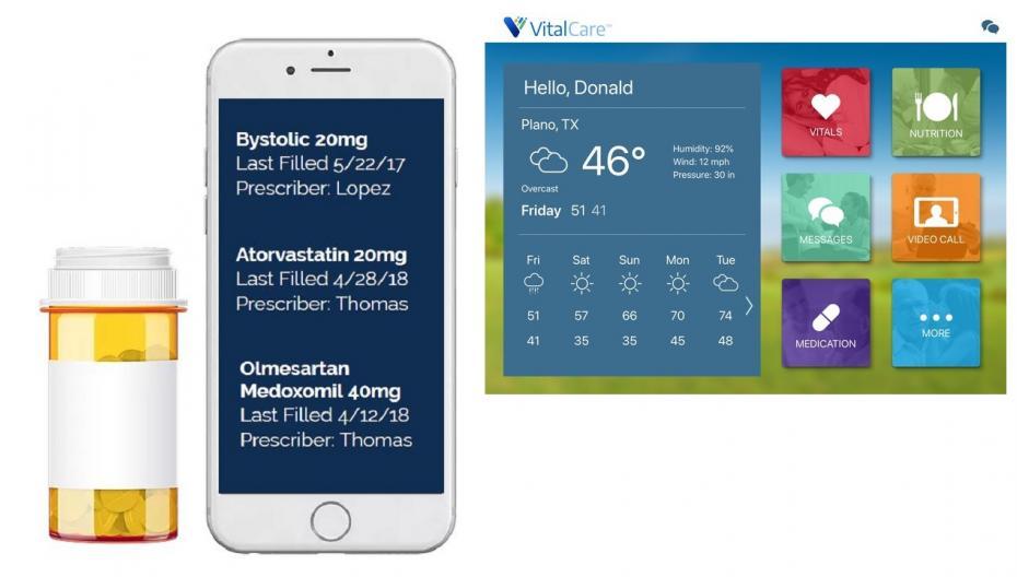 Платформа удаленного мониторинга VitalCare для пожилых людей расширяет свой функционал