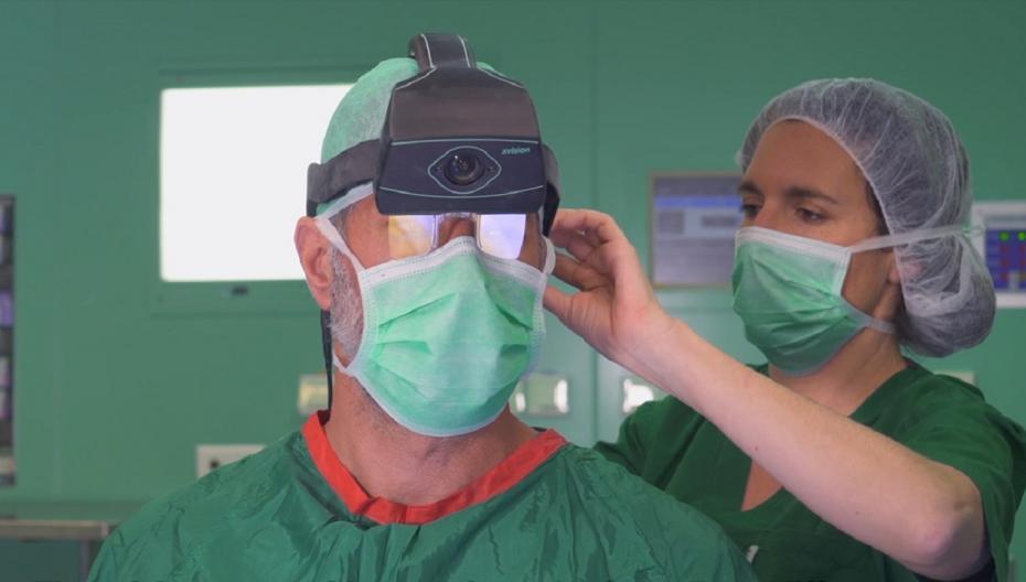 Augmedics: Технология дополненной реальности для спинальной хирургии