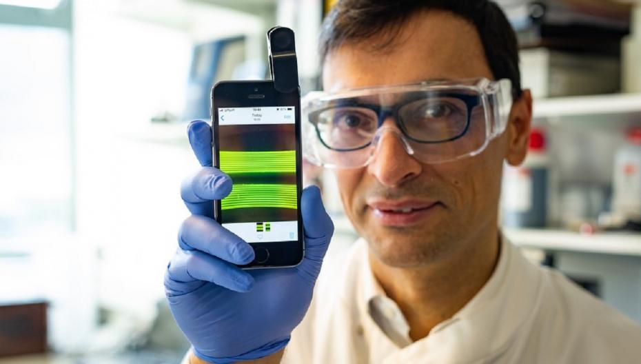 Смартфон диагностирует инфекции мочевыводящих путей