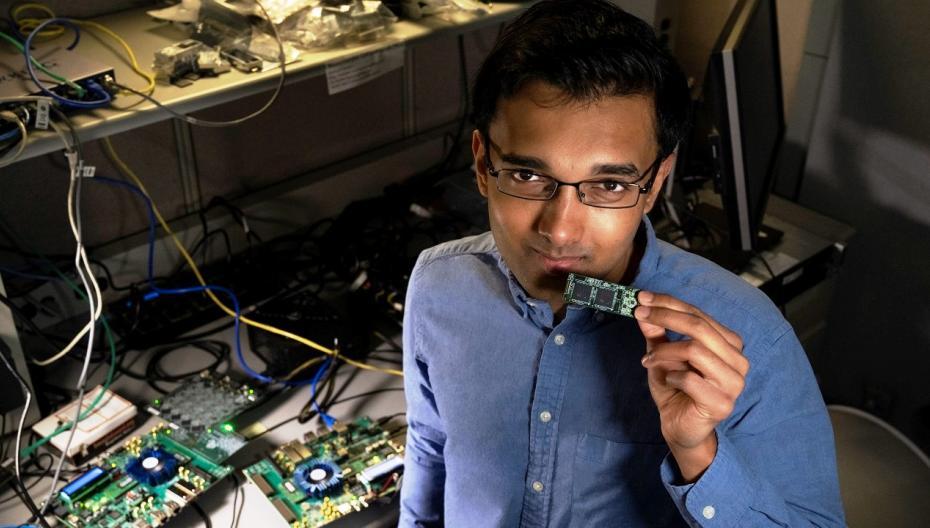 Чип Intel, способный вынюхивать опасные химические вещества