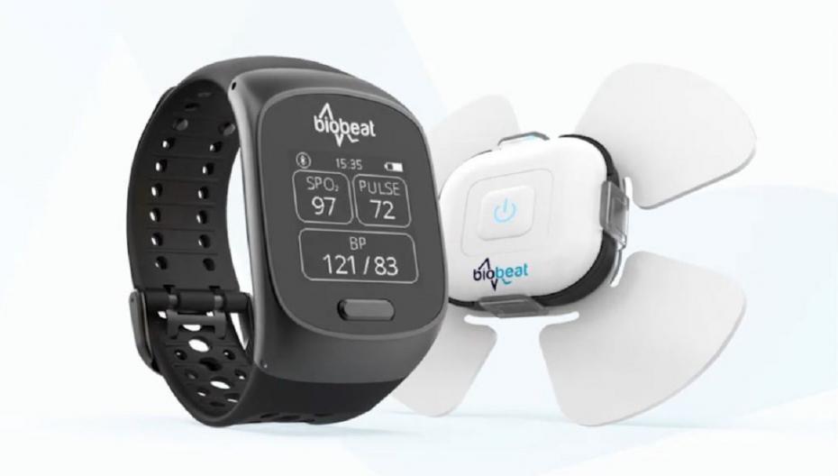 Biobeat сертифицировала в Европе свои часы и патч для мониторинга параметров здоровья