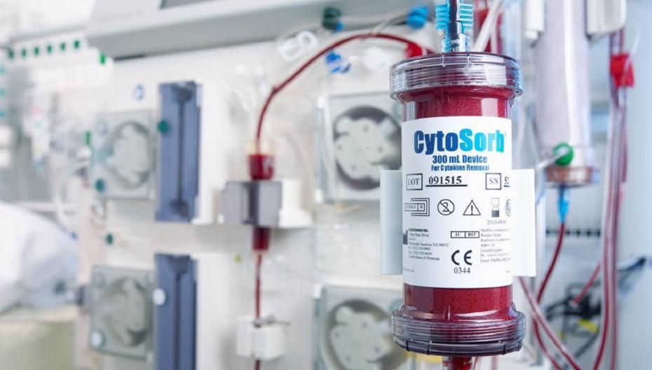 Еще одна система фильтрации крови для лечения COVID-19 разрешена к использованию