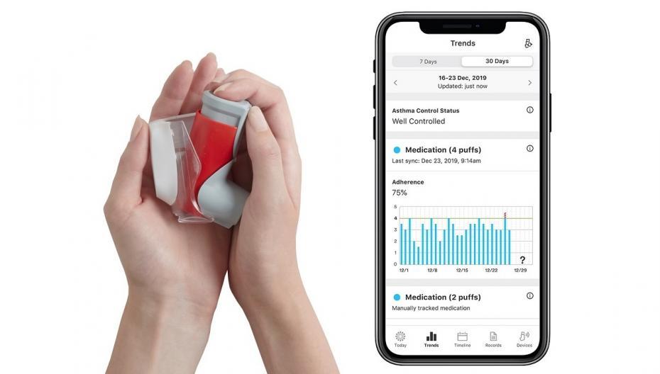 Ингалятор Symbicort теперь может использоваться вместе с сенсором Propeller Health
