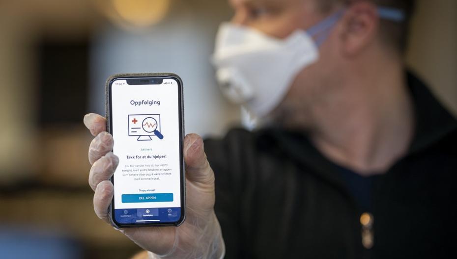 В Норвегии заблокировано приложение для отслеживания контактов с зараженными людьми