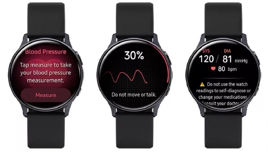 """Samsung начала продажи в Корее """"умных"""" часов с функцией контроля давления крови"""