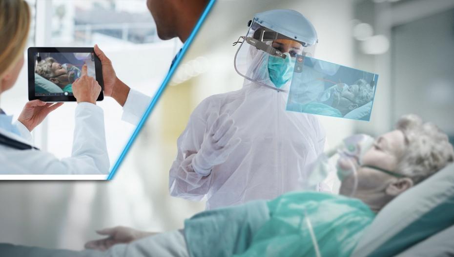 """""""Умные"""" очки как телемедицинский инструмент во время пандемии"""