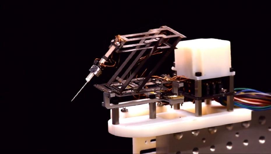 Робот-оригами для микрохирургии