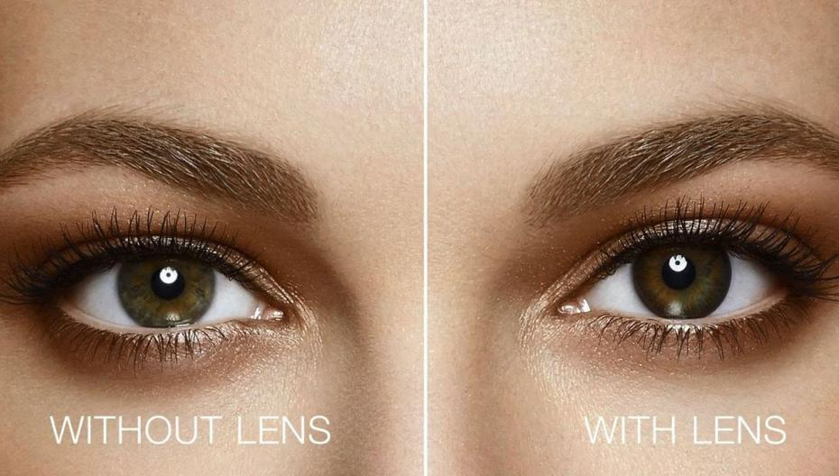 Примерить контактные линзы через Интернет
