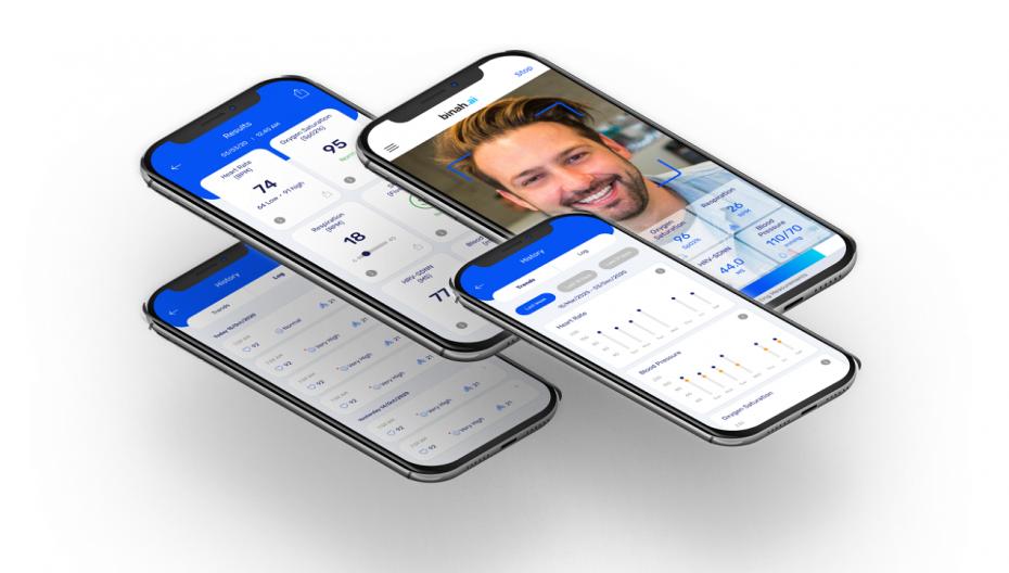 Система бесконтактного мониторинга здоровья с помощью одного смартфона