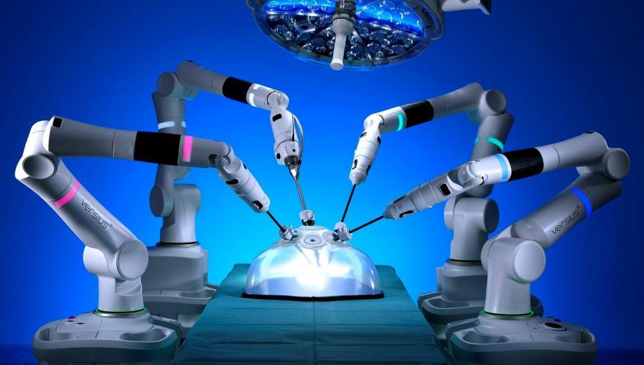 Во Франции начали использовать хирургического робота Versius
