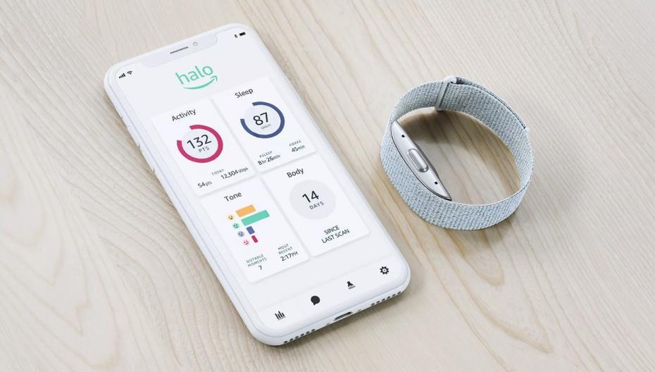 Amazon выпускает носимое устройство с функционалом контроля здоровья