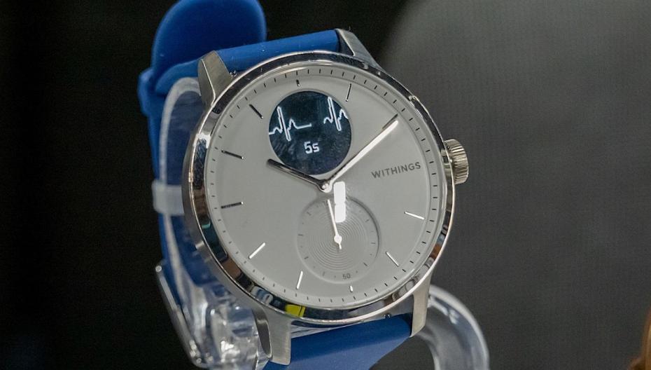 Часы с медицинским функционалом Withings ScanWatch скоро в магазинах Европы