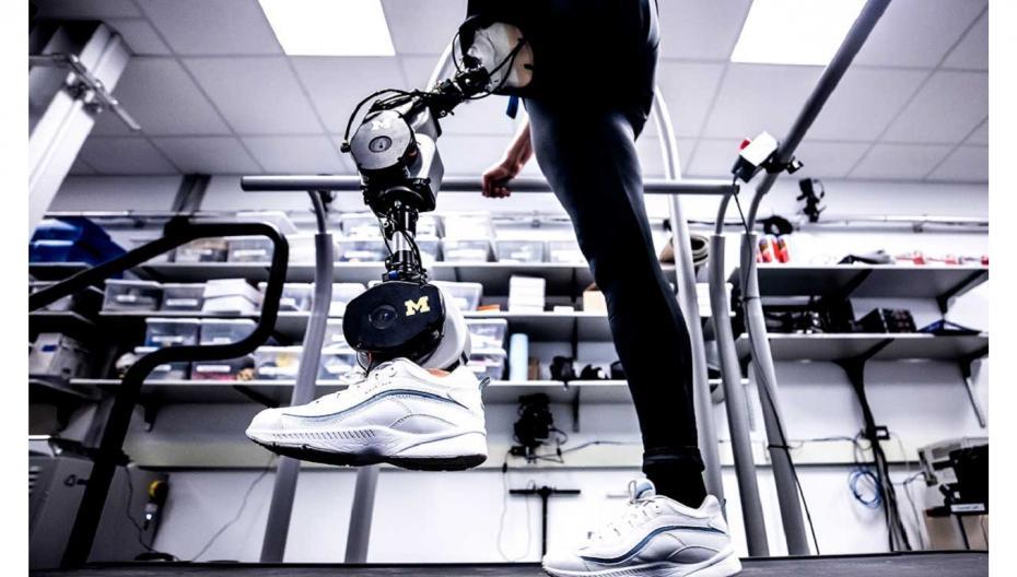 Бионическая нога с бесплатной документацией для копирования
