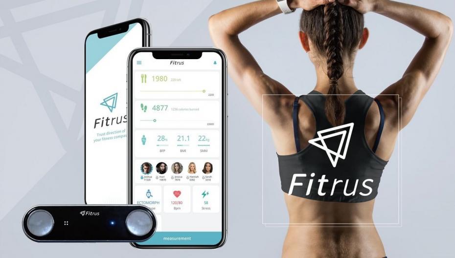 Fitrus Plus: Миниатюрное устройство для измерения состава тела и показателей здоровья