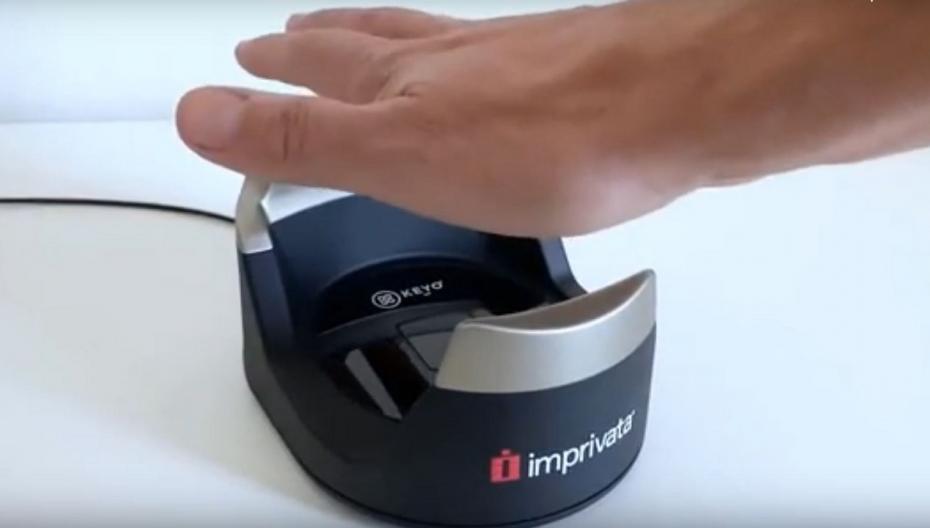Бесконтактный сканер ладони для идентификации пациентов во время пандемии