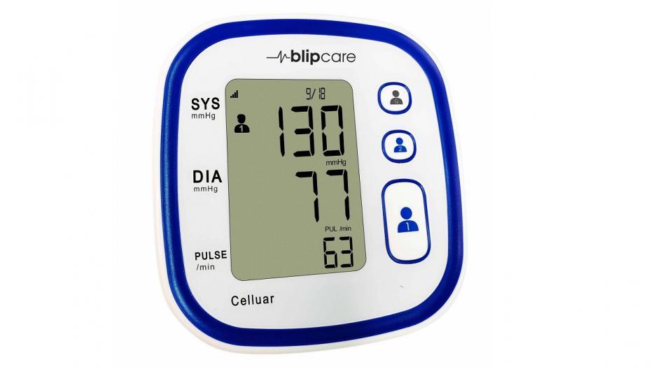 Blip BP 800: Устройство для удаленного контроля давления, работающее в сотовых сетях