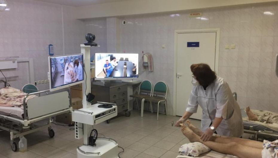 Врачи Новосибирской области впервые получили возможность проведения телемедицинских консультаций с коллегами