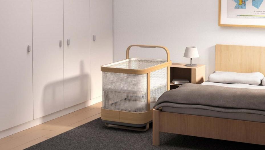 """Cradlewise: """"умная"""" детская кроватка со специфическими возможностями"""