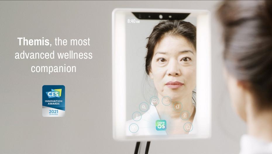 """Themis: """"умное"""" зеркало для людей, следящих за своим здоровьем"""