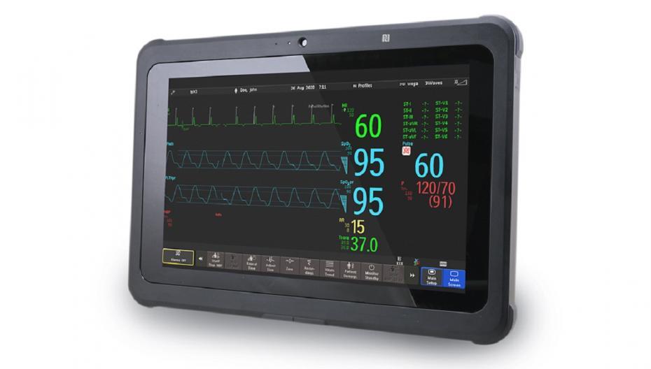 Медицинский планшет Philips для мониторинга пациентов в экстренных случаях