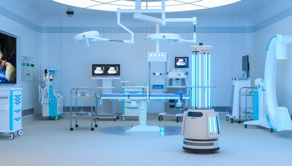 UBTech вывела на рынок дезинфекционного робота