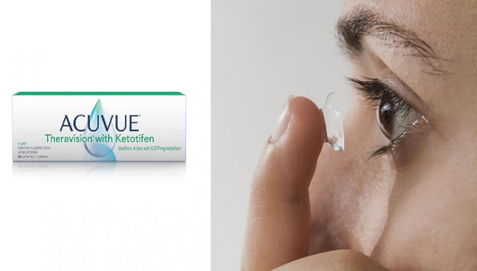 Контактные линзы, помогающие при аллергии