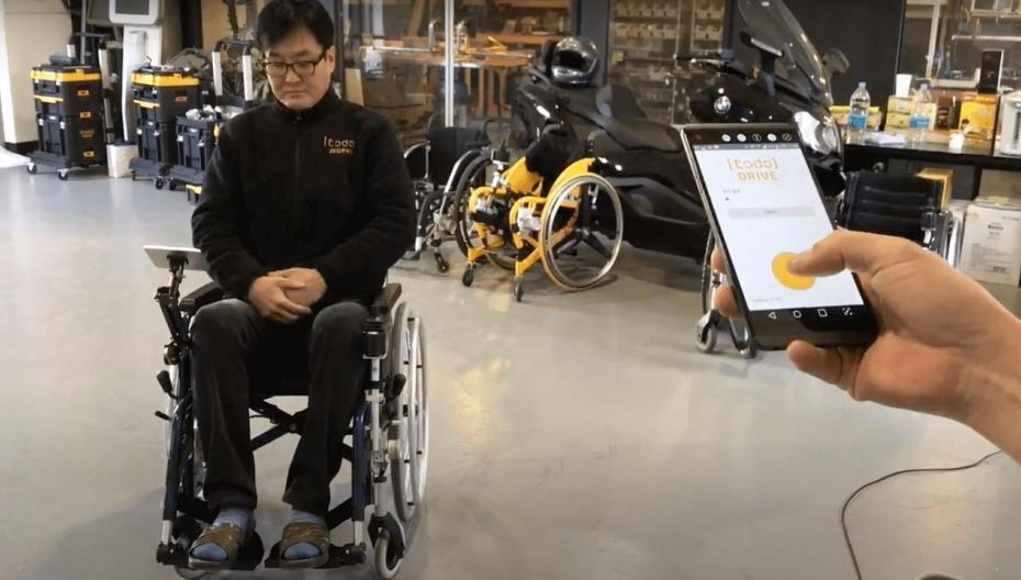 Корейский стартап облегчает жизнь людям в инвалидной коляске