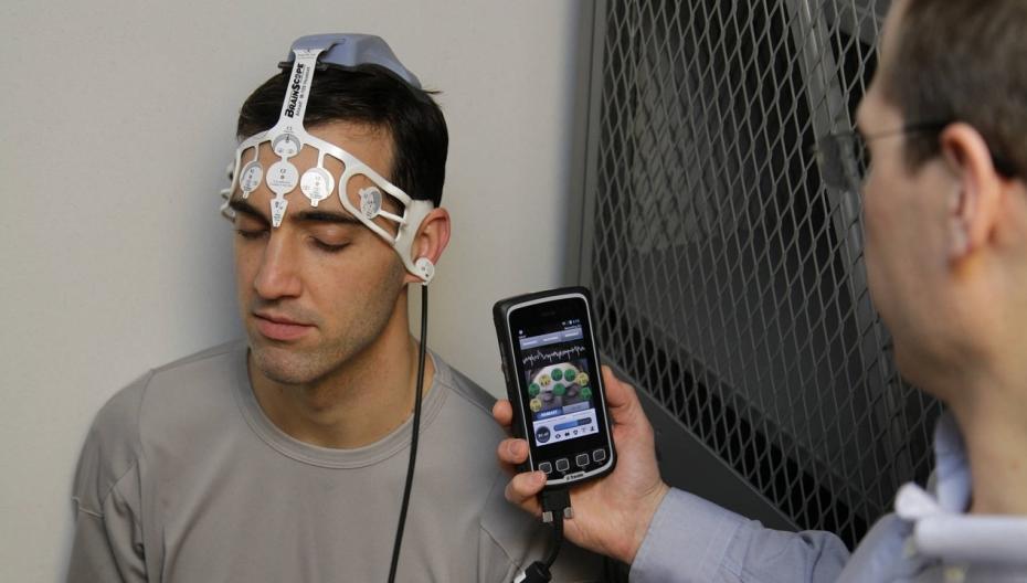 Портативная система BrainScope для оценки сотрясения мозга