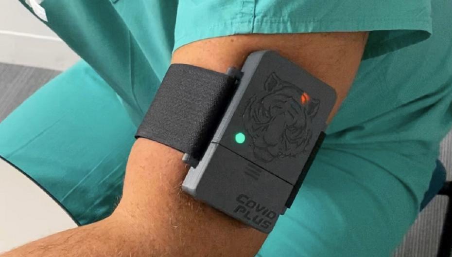 Браслет, который предназначен для скрининга на Ковид-19, скоро будет доступен клиникам