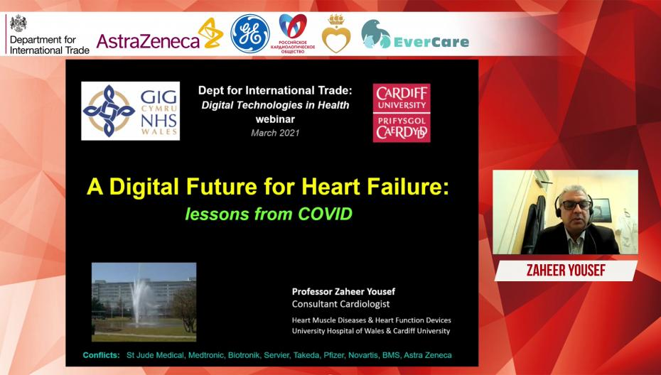 Zaheer Yousef - Цифровое будущее в лечении ХСН: чему нас научил COVID-19