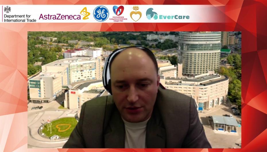 """Панельная дискуссия в рамках вебинара """"Цифровизация в Здравоохранении России и Великобритании"""""""