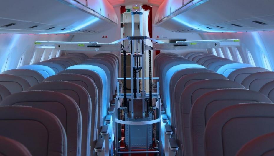 Швейцарский дезинфекционный робот должен обеспечить безопасность полетов