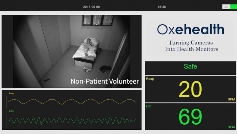 Oxehealth вывела на рынок систему мониторинга параметров здоровья на базе видео-технологий