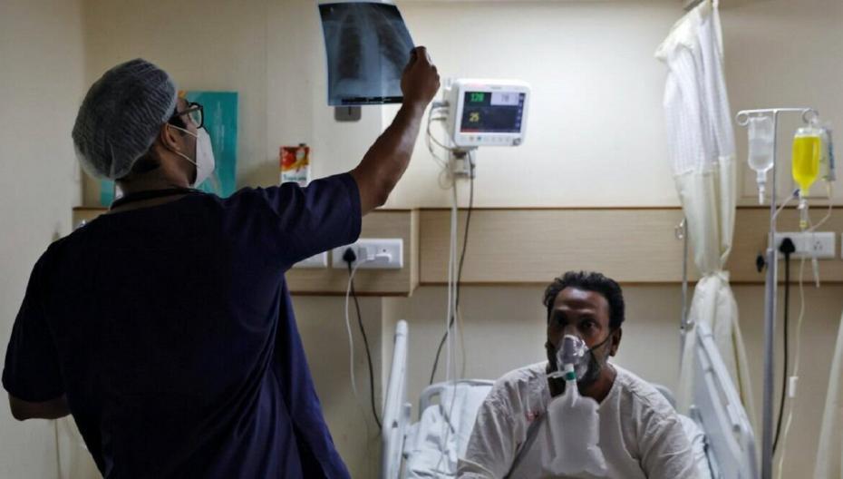 Быстрая диагностика КОВИД-19 по рентгенограмме легких