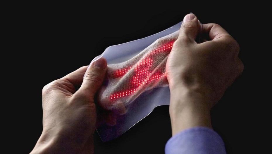 Исследователи Samsung разработали эластичный накожный патч для мониторинга сердечного ритма