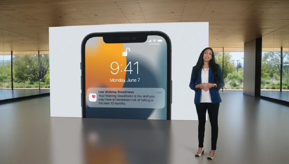 Apple представила на WWDC 2021 новые функции, связанные с медициной