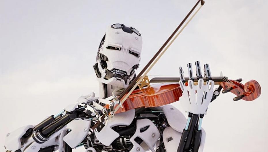 ИИ создает мелодию на основе родинок на теле человека