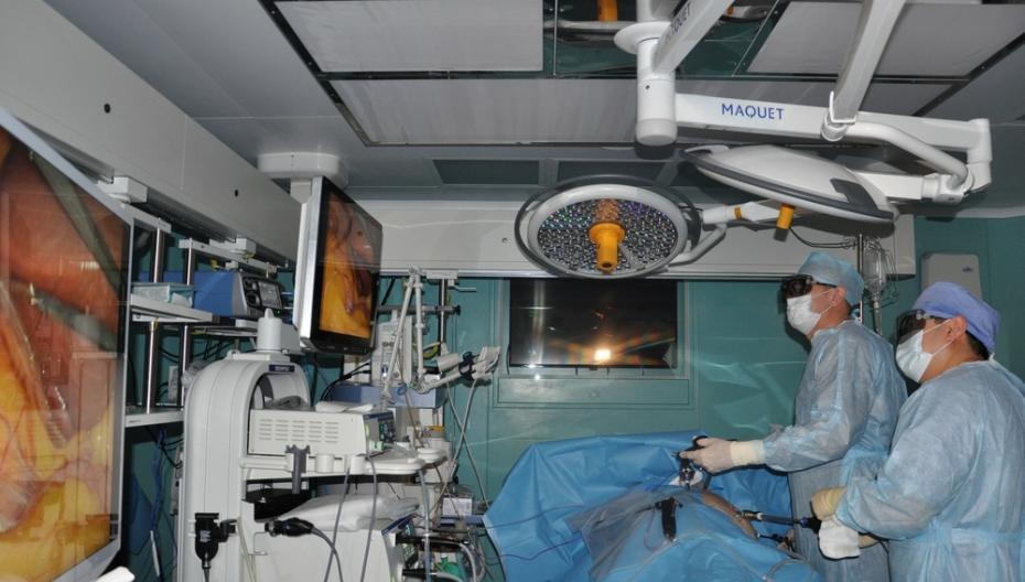 Урологи Ростовского НМИЦ онкологии повысили качество хирургии благодаря системе 3D-визуализации