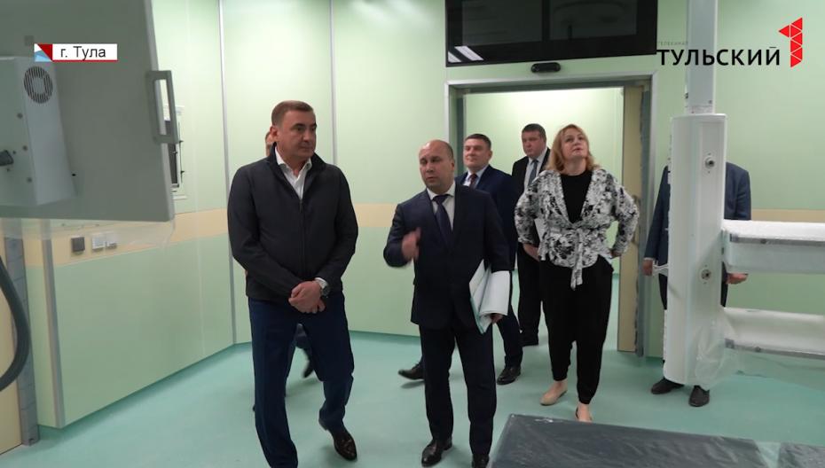 В Туле продолжают совершенствовать телемедицинские услуги