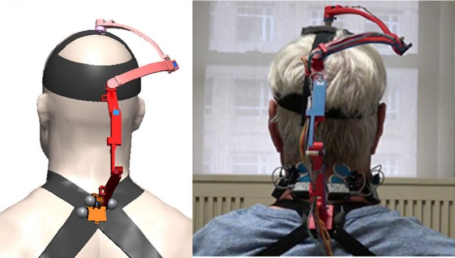 Роботизированный корсет измеряет подвижность шеи у пациентов с раком